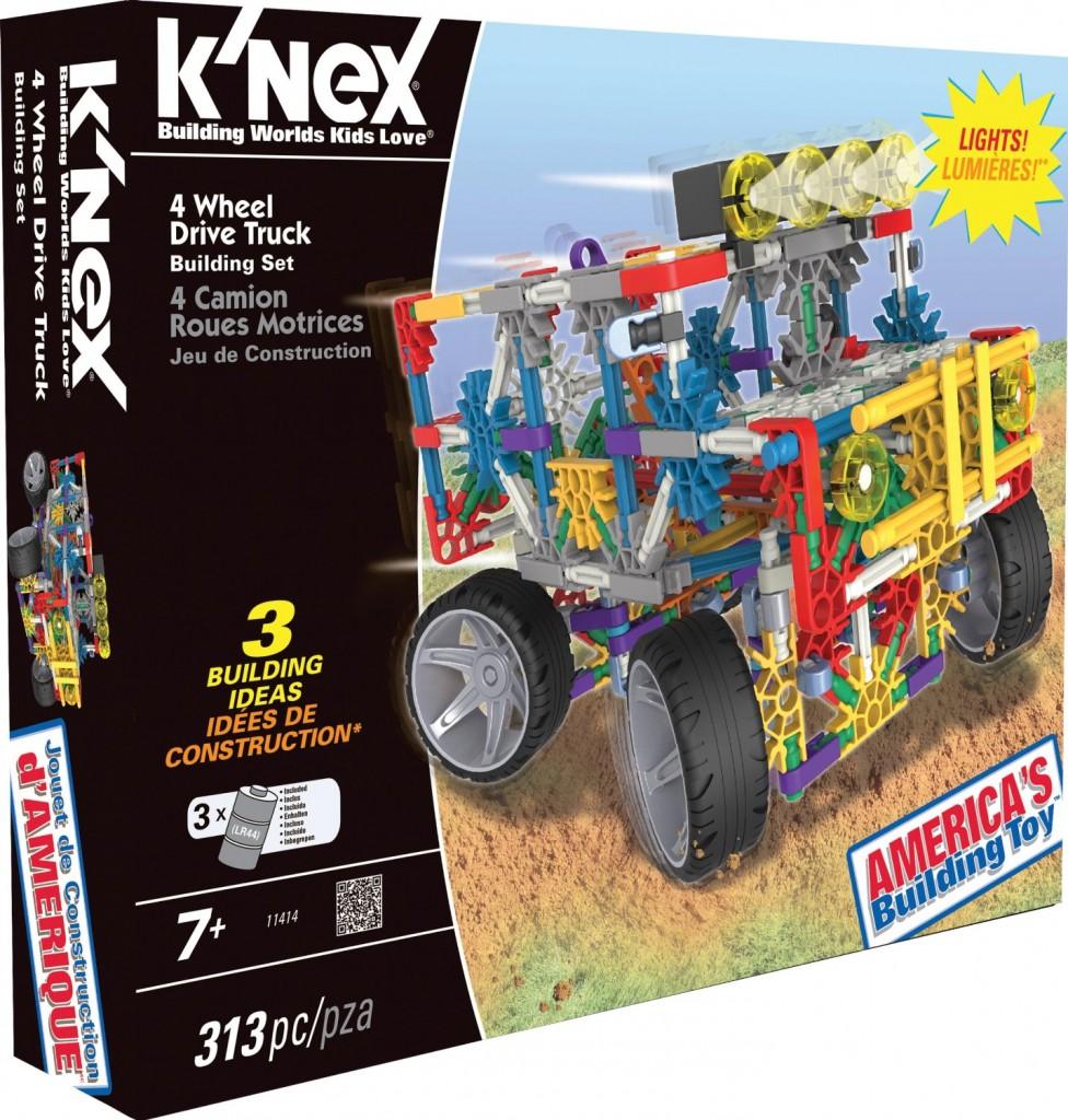 K'NEX Classics 4 Wheel Drive Truck