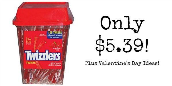 105ct Twizzlers Strawberry Twists Only $5 39!