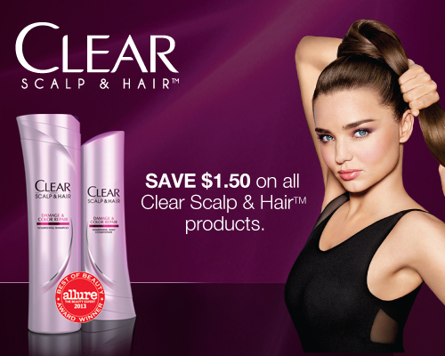 clear scalp and hair coupon