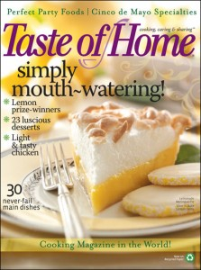 Taste of Home Magazine Subscription Only $4.50!