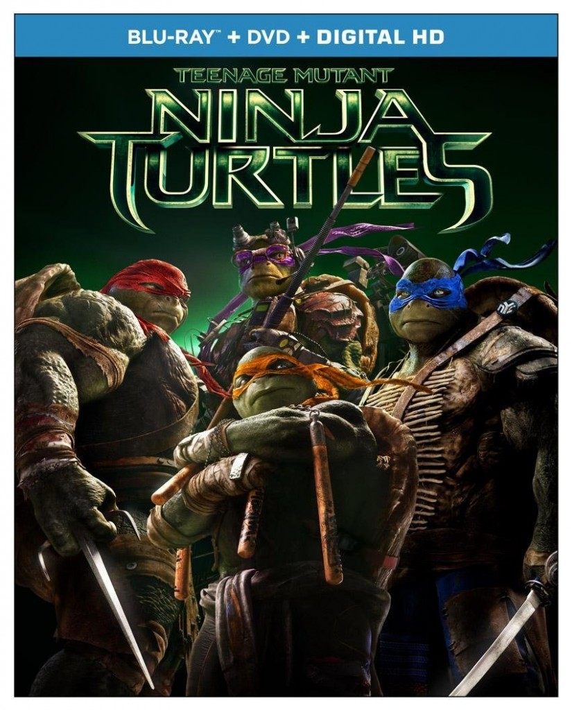 teenage mutant ninja turtles dvd + blu-ray