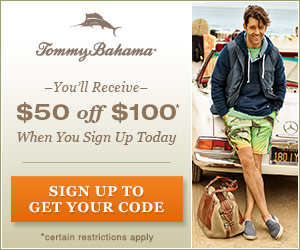 Tommy bahama coupon code august 2018