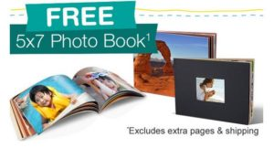 FREE 5×7 Photo Book from Walgreens! Today ONLY!