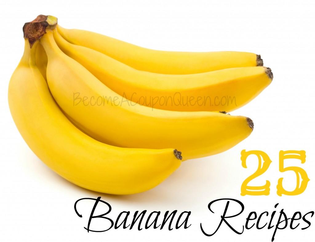 25 banana recipes