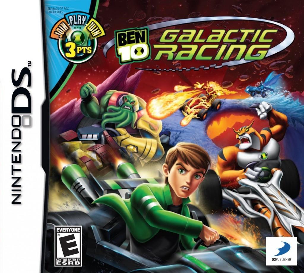 Ben 10 Galactic Racing game - Nintendo DS