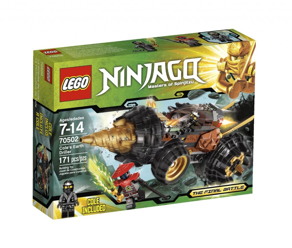 LEGO Ninjago Cole Earth Driller