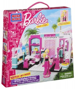 Mega Bloks Barbie Fashion Boutique Only $12.75!