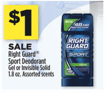 dollar general right guard sport