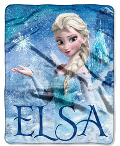 Disney Frozen Elsa Palace Throw