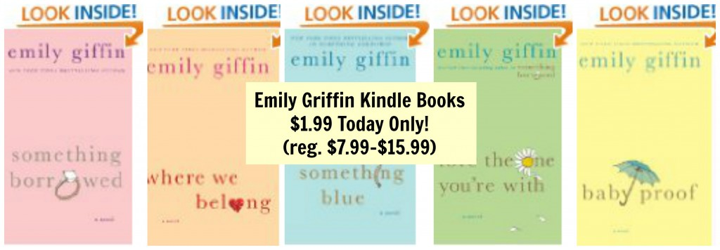 emily griffin kindle books