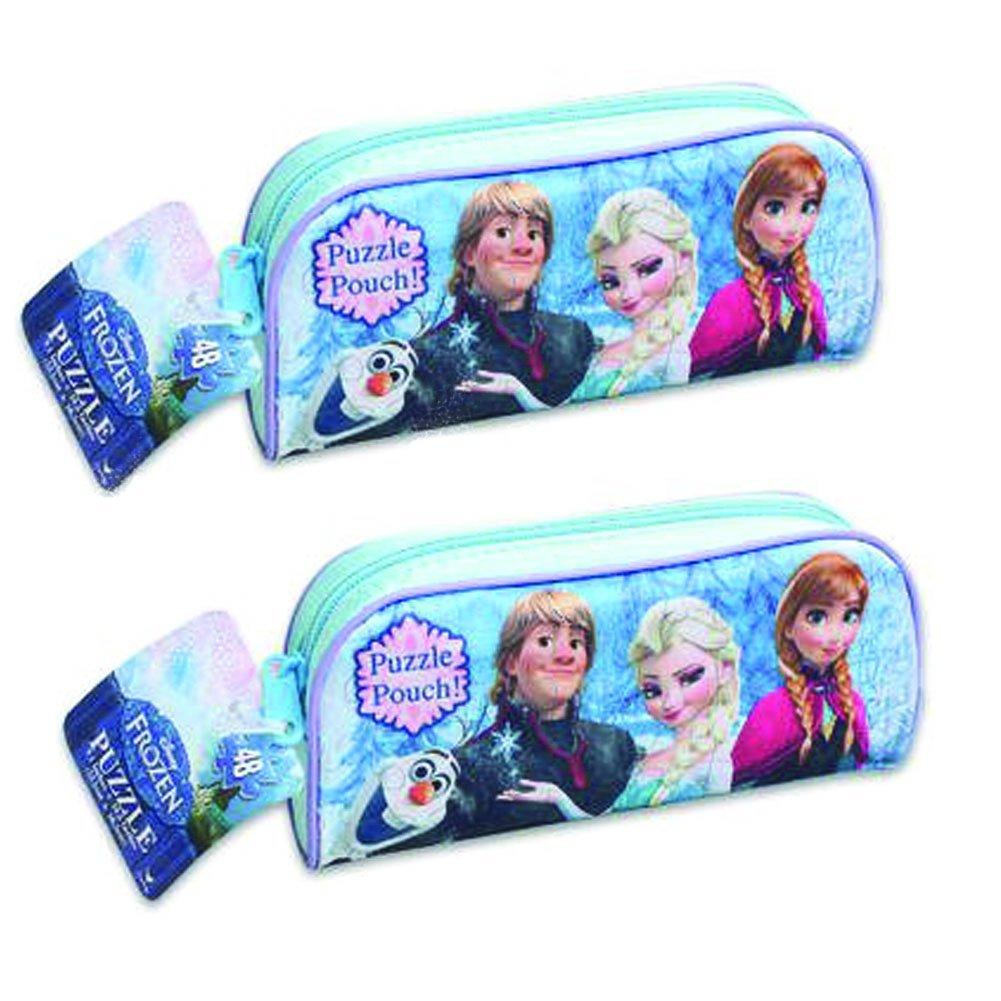 frozen puzzle pouch set