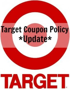 Target Coupon Policy Update