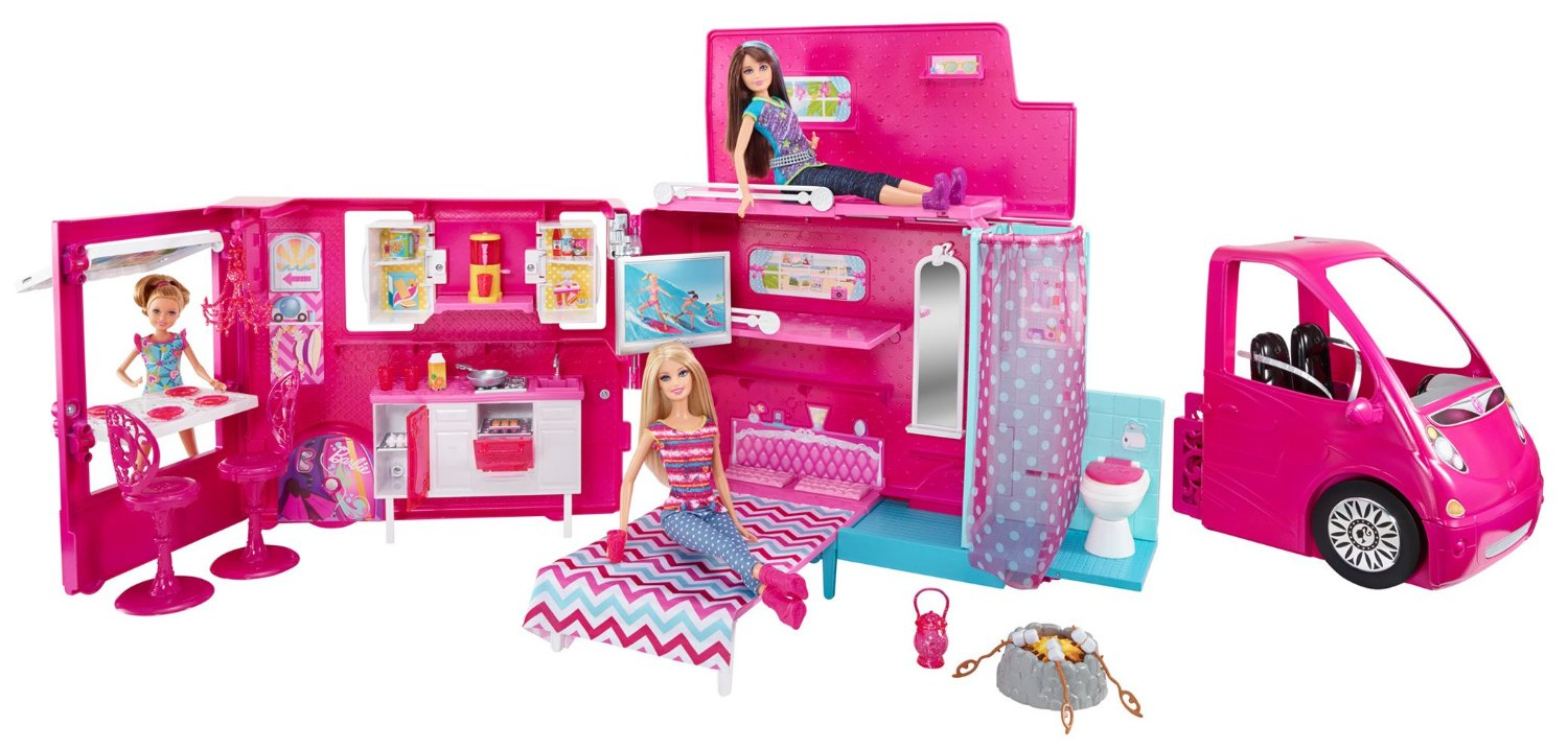 Toys For Life : Barbie sisters life in the dreamhouse camper free