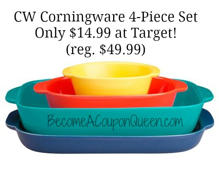 CW by Corningware 4-Piece Set
