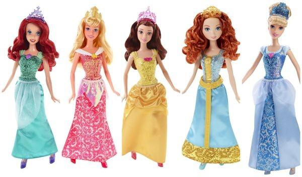 Disney Princess Sparkling Princess Dolls