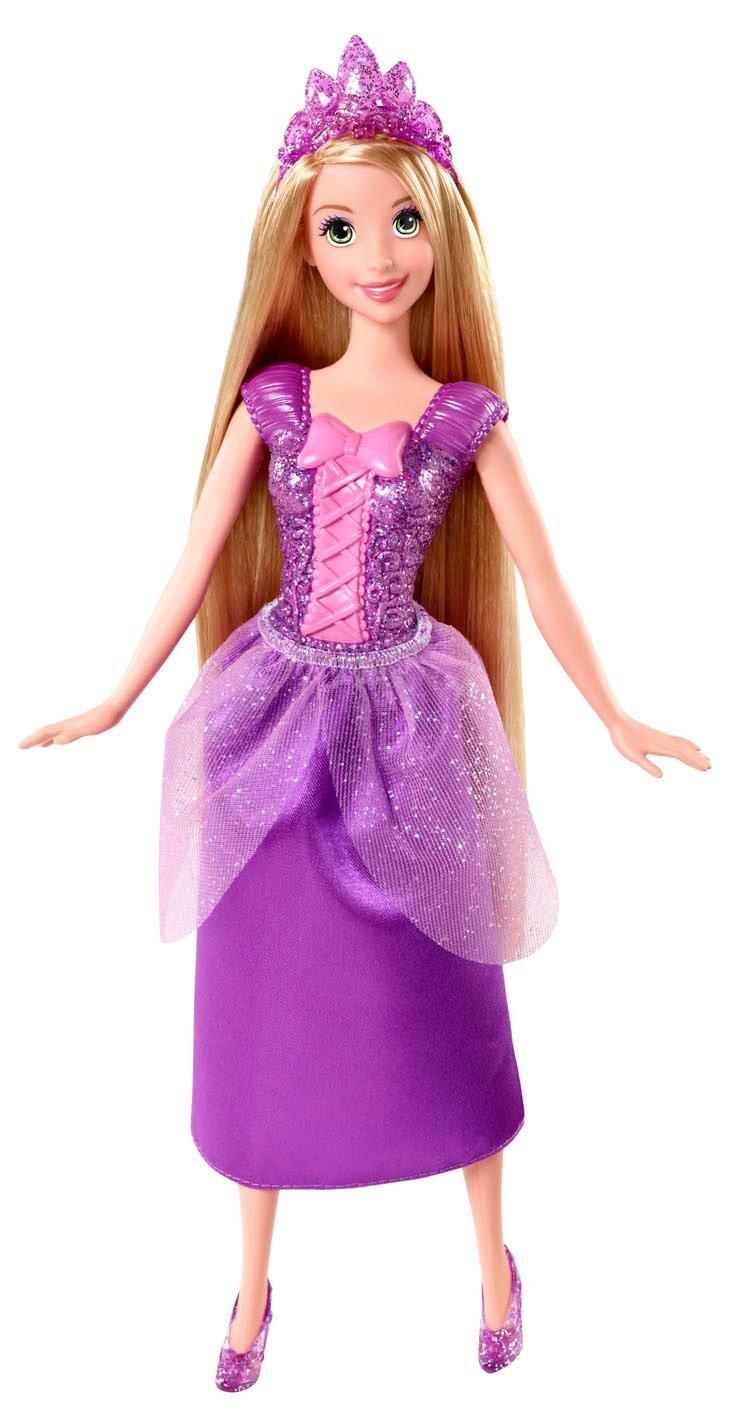 Disney Princess Sparkling Princess Rapunzel Doll Only $8!