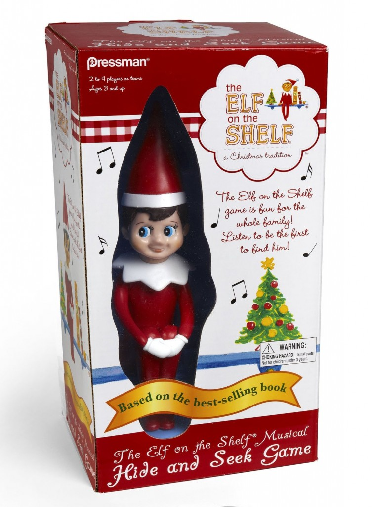 Elf on The Shelf Hide and Seek Game