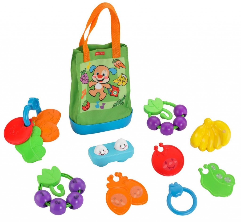 Fisher-Price Laugh & Learn Sing n' Learn Shopping Tote ...