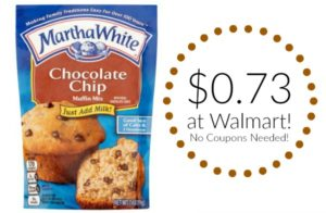 Walmart: Martha White Muffin Mix Only $0.73!