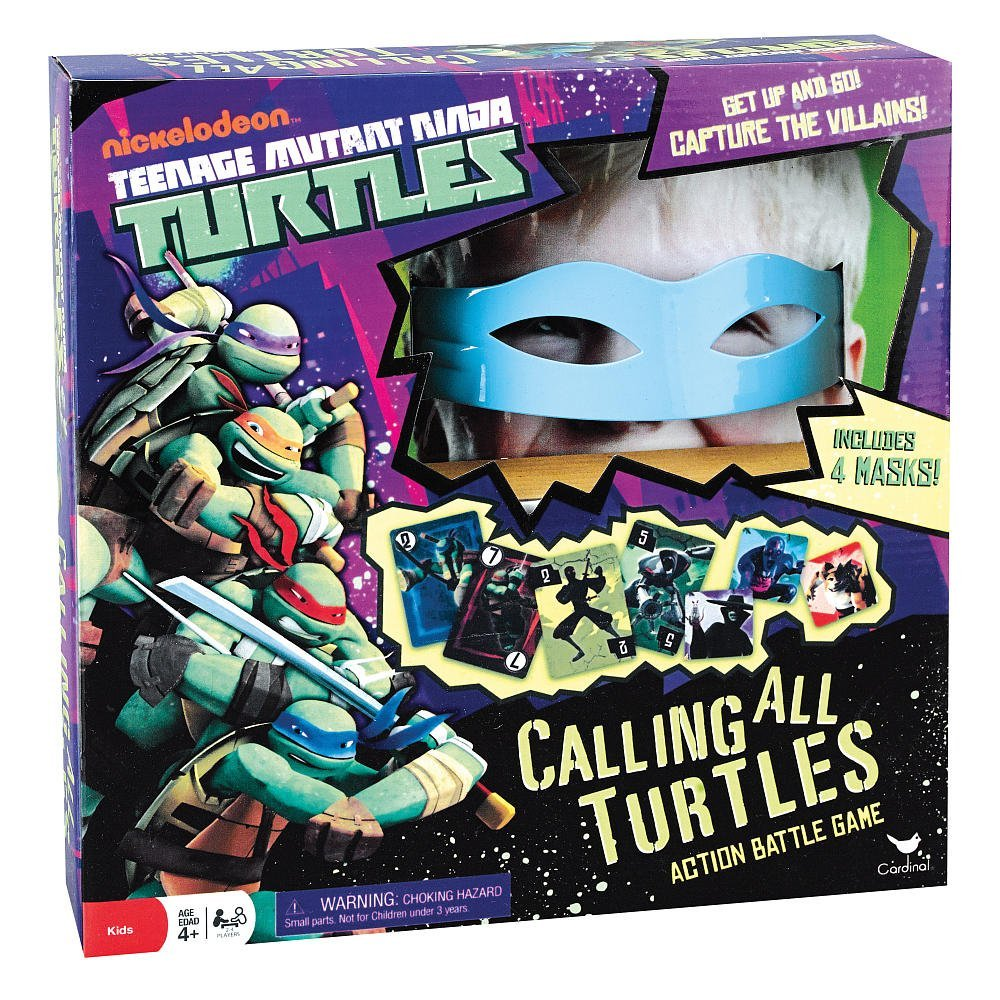 Teenage Mutant Ninja Turtles Calling All Turtles Card Game