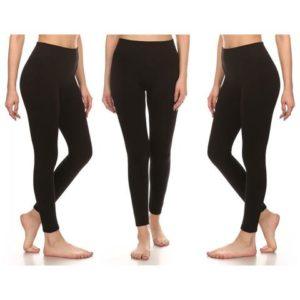 3-pack Fleece Lined Leggings Only $13.99 Shipped! ($4.66 each)