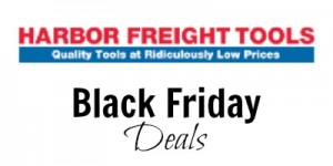 Harbor Freight Tools Black Friday Deals