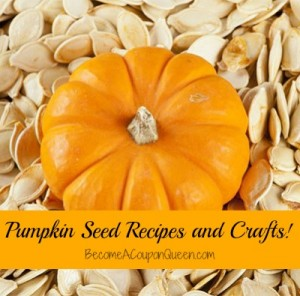 Pumpkin Seed Recipes and Crafts!