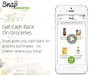 NEW Money Saving App – Snap by Groupon!