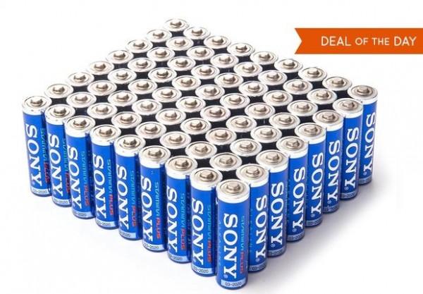 AA sony stamina batteries