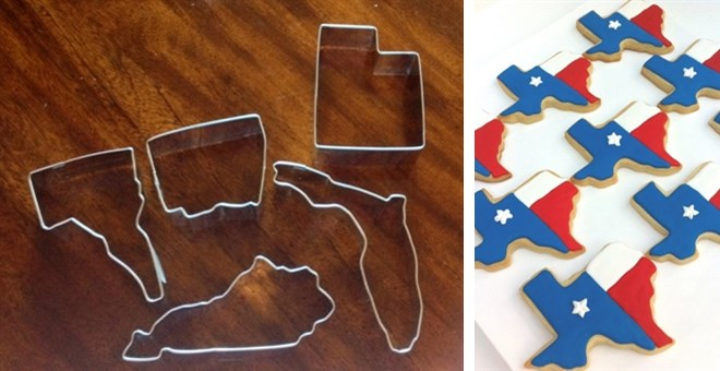 state cookie cutters