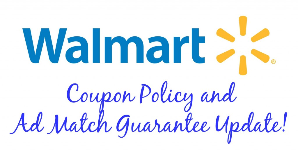 walmart coupon policy and ad match guarantee update