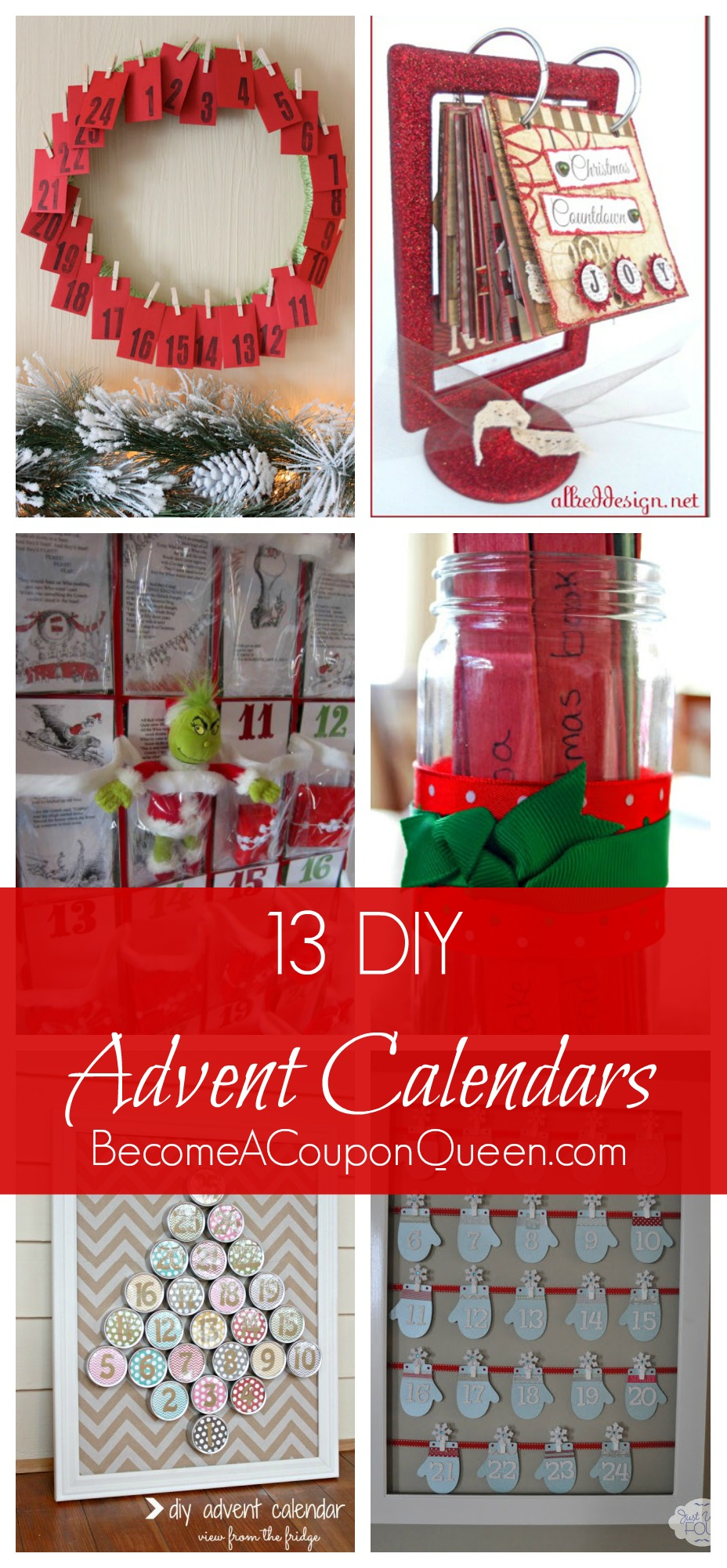 13 Do-It-Yourself Advent Calendars