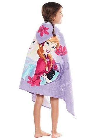 Disney Frozen Anna & Elsa Bath Wrap