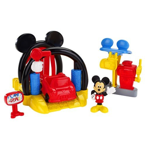 Fisher-Price Disney Mickey Mouse Soap n Suds Car Wash
