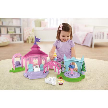 Fisher-Price Little People Disney Princess Garden Party Playset