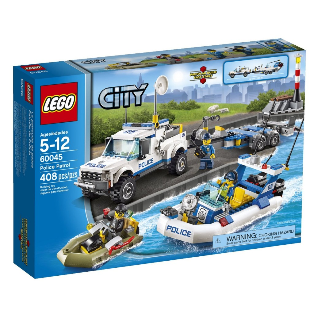 lego city police patrol only lowest price. Black Bedroom Furniture Sets. Home Design Ideas