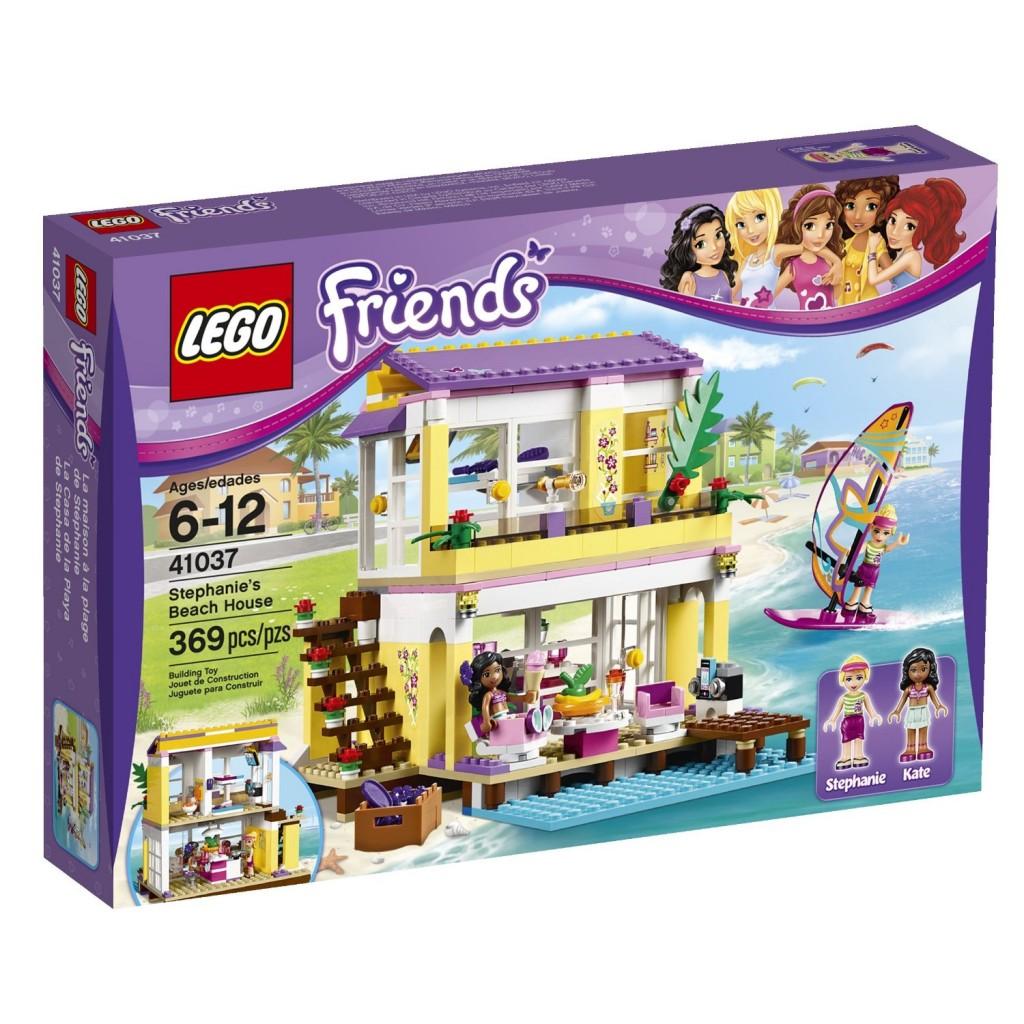 LEGO Friends Stephanie s Beach House $29 99 lowest price