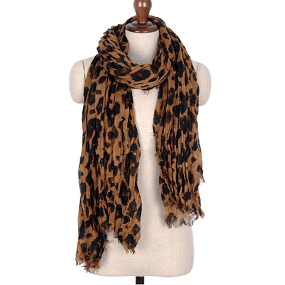 designer inspired leopard print scarf only 2 58 shipped