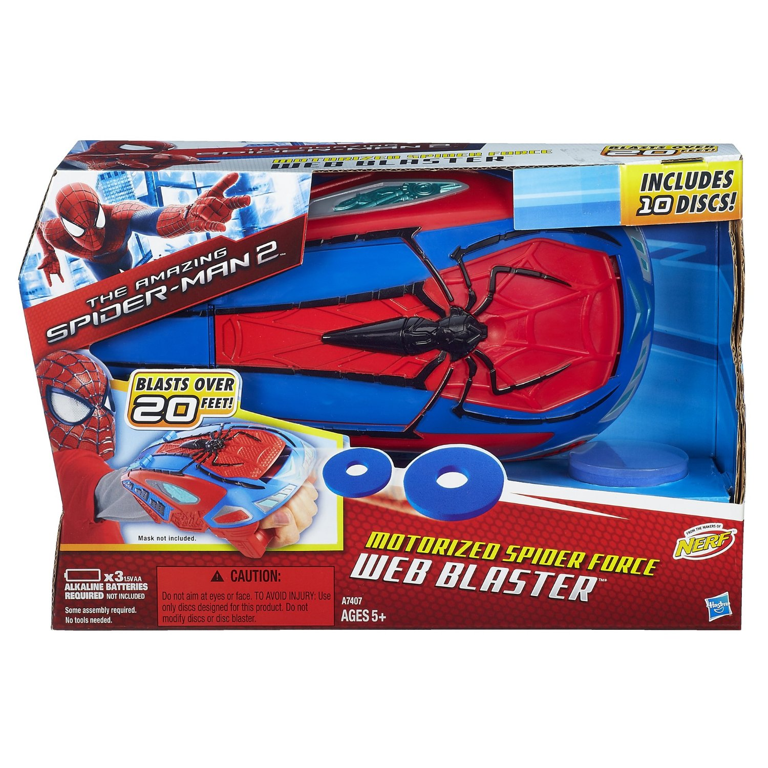 The Amazing Spider Man 2 Motorized Spider Force Web