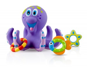 Nuby Octopus Bath Time Toss Only $5.49!