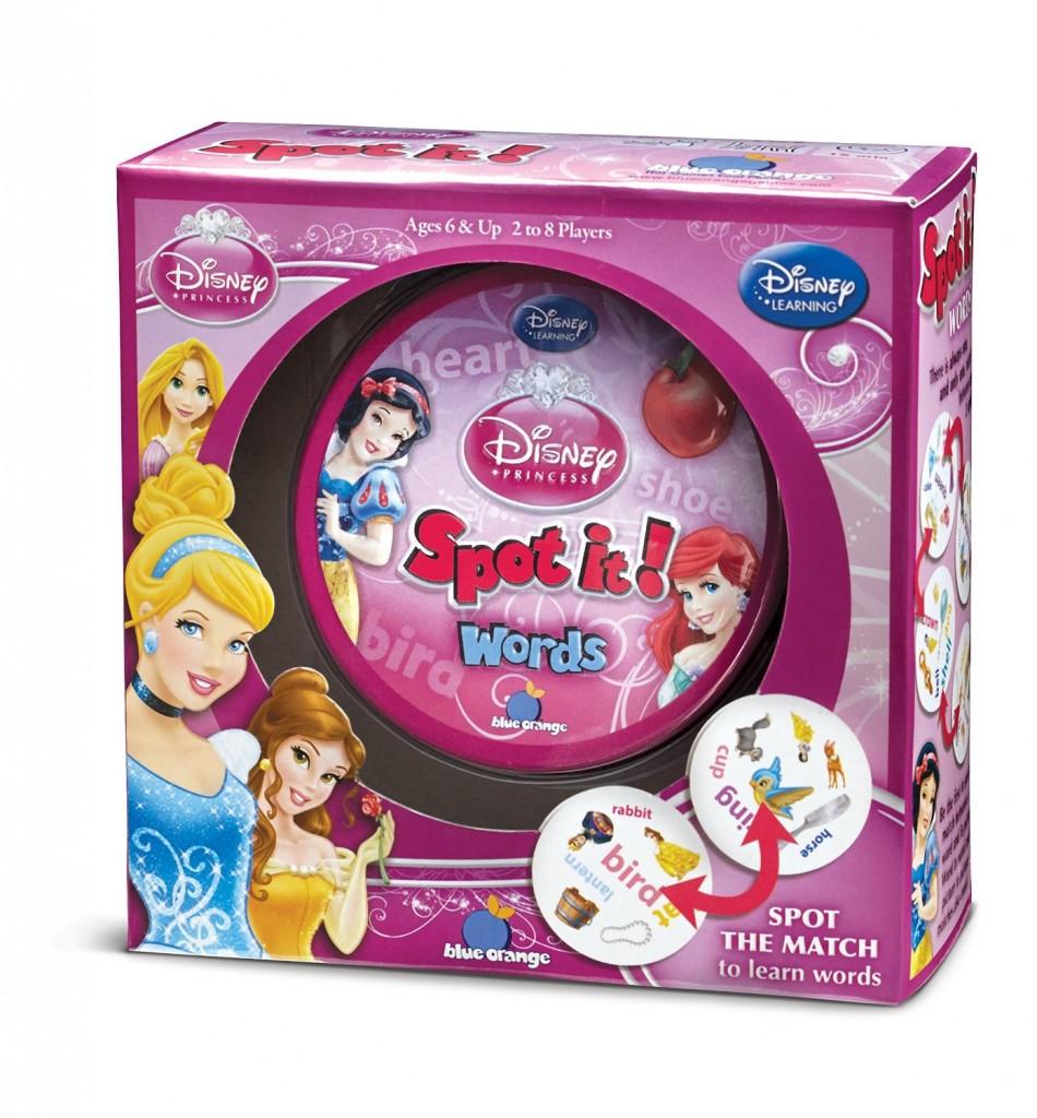 Spot it! Disney Princess - Words