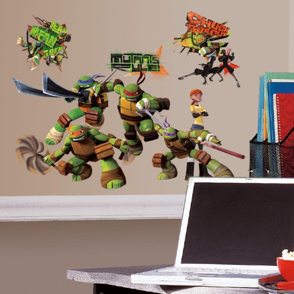 Teenage Mutant Ninja Turtles Peel And Stick Wall Decals
