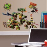 Teenage Mutant Ninja Turtles Peel And Stick Wall Decals Only $9.29!