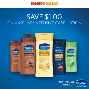 vaseline intensive care lotion coupon