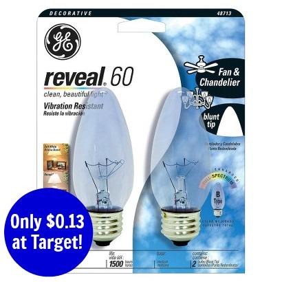 ge reveal ceiling fan lightbulbs