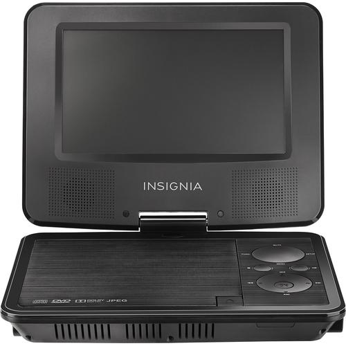 insignia portable dvd player: