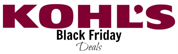 kohls black friday deals