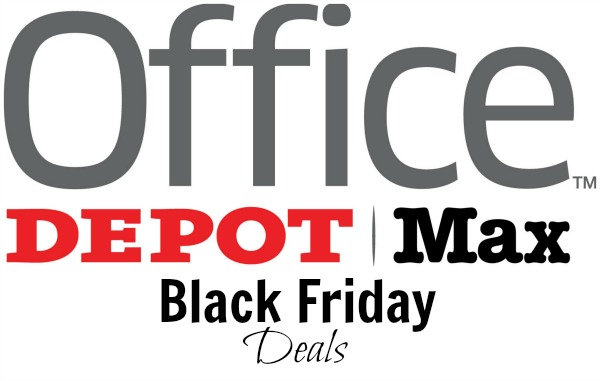 Office depot and office max black friday deals become a for Deals by depot