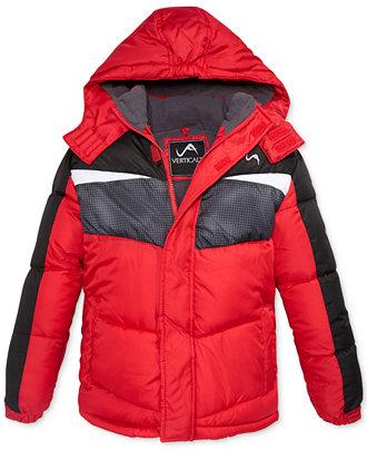 vertical 9 boys puffer jacket