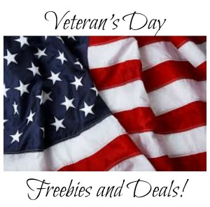 Veteran's Day Freebies and Deals!